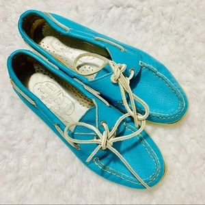 {SPERRY} Blue Top Sider Boat Shoes